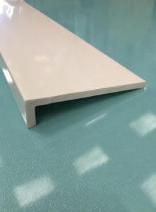 White cover fascia board