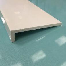 White cover fascia board