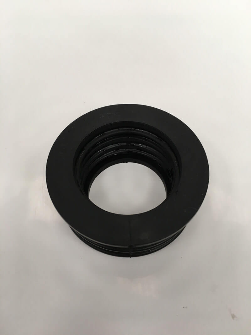Soil 40mm rubber waste adaptor