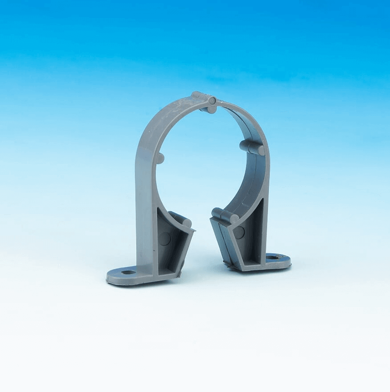 Waste pipe clip