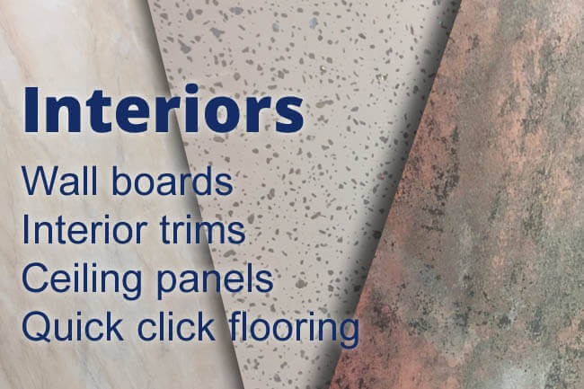 Interior wall floor and ceiling suppliers