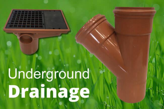 Underground drainage supplier Wakefield